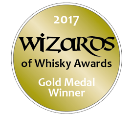 Wizards of Whisky Award 2017 Gold