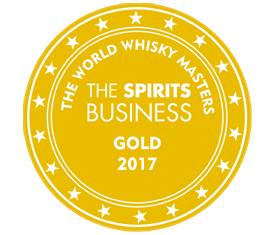 WORLD WHISKY MASTERS 2017 GOLD - BRILLIANCE